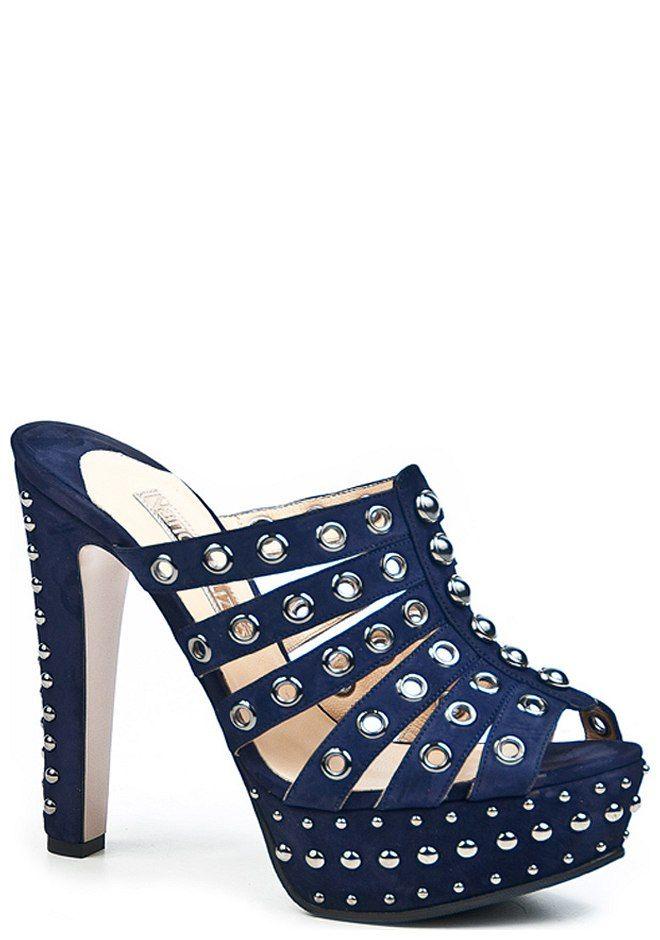 a409dacae Сабо 8610 синие от бренда Nando Muzi из Италии, купить в интернет ...